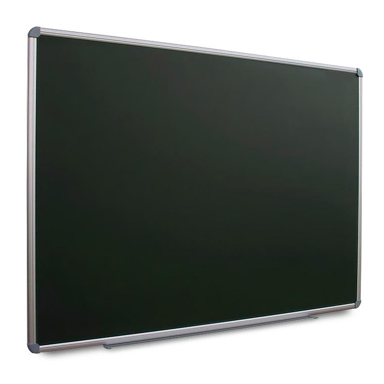 Quadros para giz, preto ou verde, com moldura de alumínio e cavalete opcional