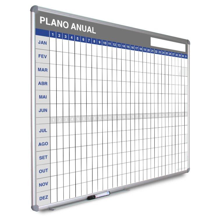 Quadro de planeamento anual em grelha