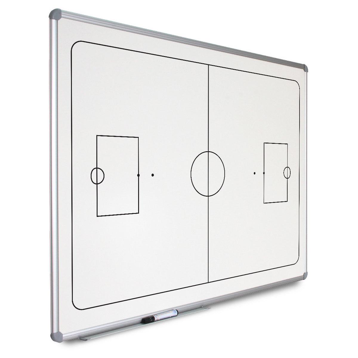 Quadros magnéticos personalizados, com moldura de alumínio e cavalete opcional